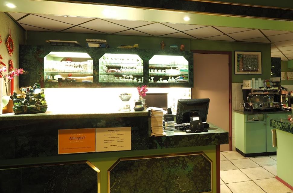 Afhaal gedeelte Chinees Indisch Restaurant Groenlo